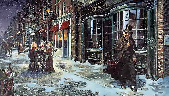 Image result for dickens london christmas