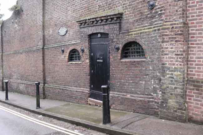 The old Hampstead Lock Up.