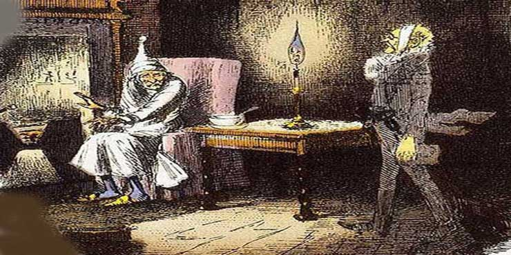 being a history of a christmas carol on film