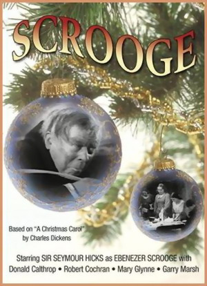 The cover of Seymour Hicks Scrooge.