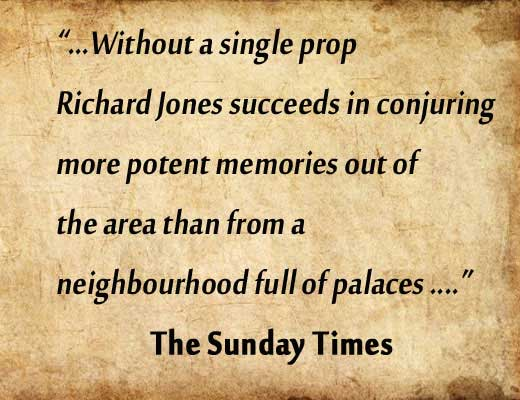 A review of Richard's tour from the Sunday Times.