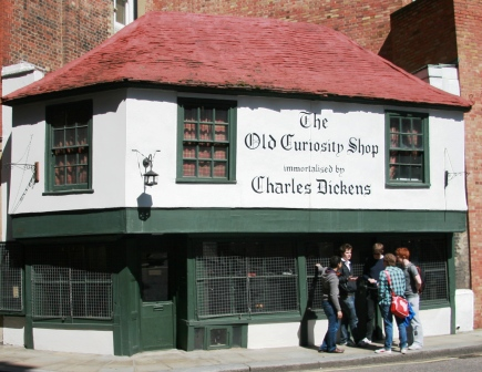 The Old Curiosity Shop. Immortalised by Charles Dickens.